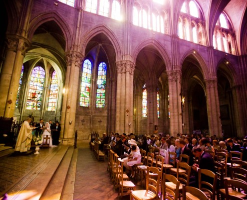 French Cathedral Wedding