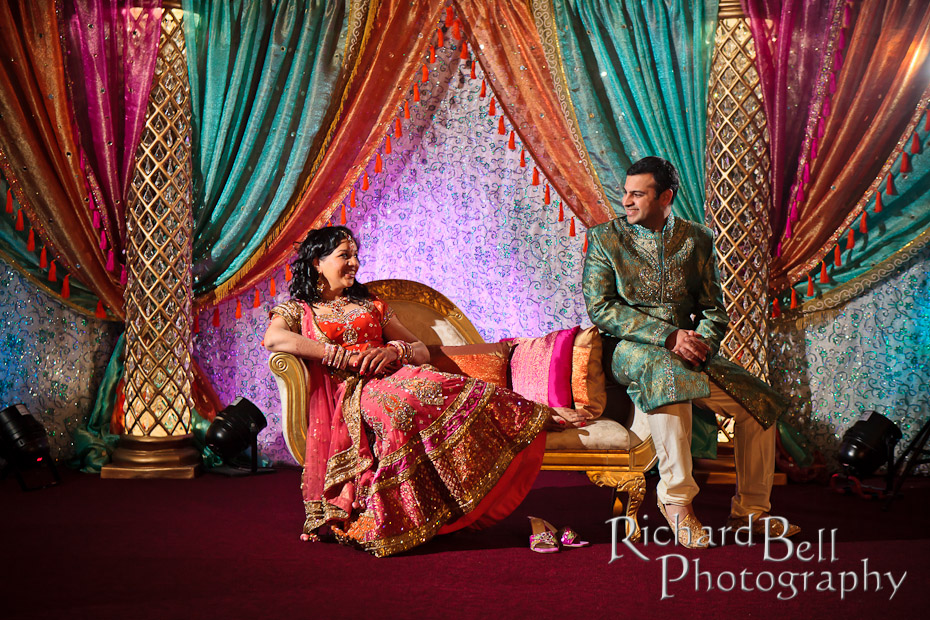 Rich Bell Photography | Indian Wedding Reception – South ...